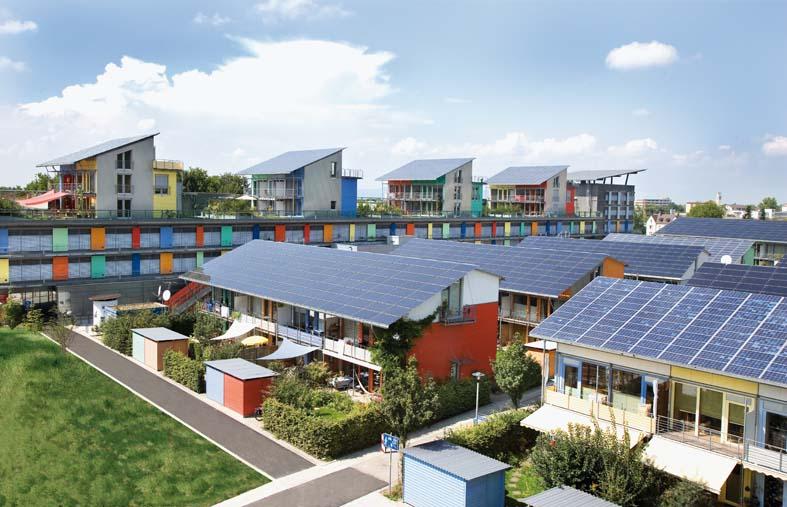 Rolf Disch: Solarsiedlung